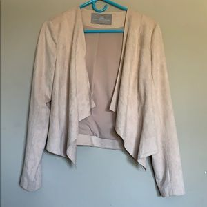 New Tart Collections pink faux sway blazer.
